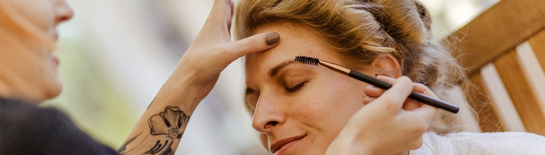 Make-Up Augenbrauen Braut - Friseur Leibnitz Style Boutiqe by Lissi Pechman