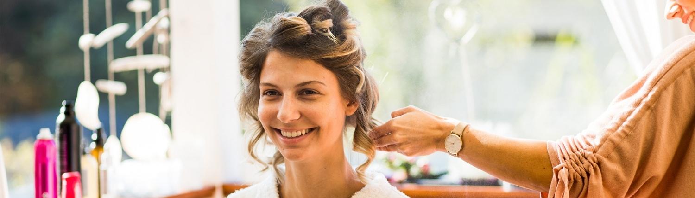 Styling glückliche Braut - Friseur Leibnitz Style Boutiqe by Lissi Pechman