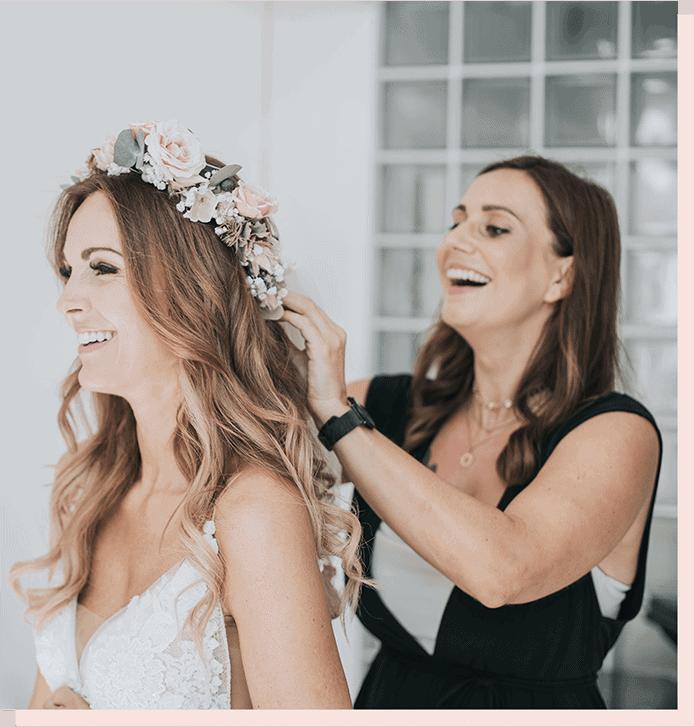 Lissi Style Hochzeit Brautfrisur